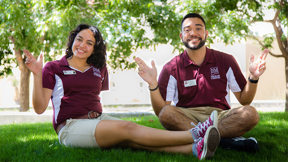 Orientation leaders at New Mexico State University